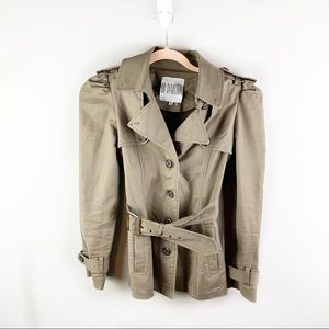 BB Dakota Button Down Brown Coat